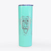 Chester the Soft Coated Wheaten Terrier - 20oz Skinny Tumbler