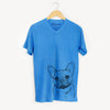 Chew Chew the French Bulldog - Unisex V-Neck Shirt