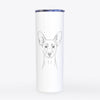 Chillie the Mini Pinscher - 20oz Skinny Tumbler