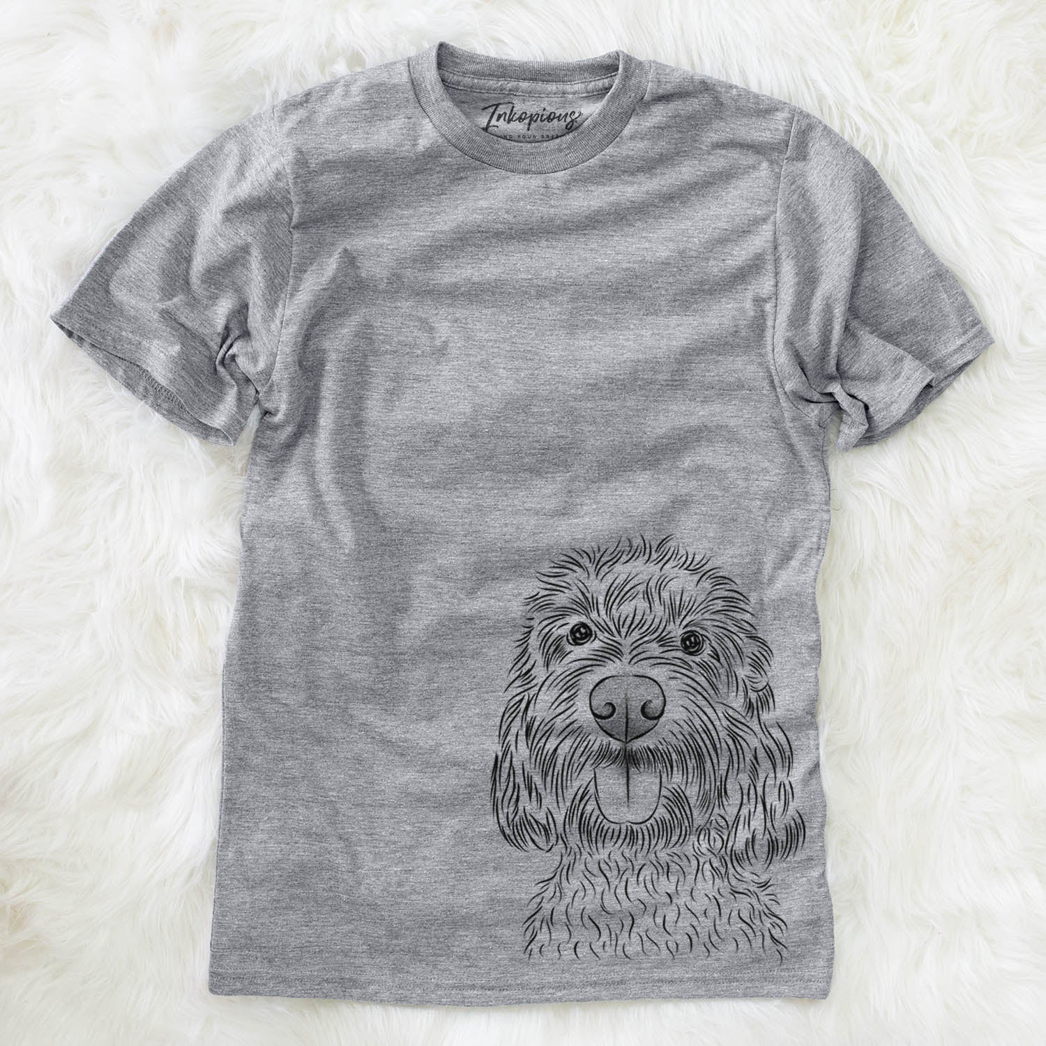 Clover the Cockapoo - Unisex Crewneck