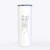 Connor the Irish Terrier - 20oz Skinny Tumbler