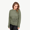 Cuddles the Coton de Tulear - Long Sleeve Crewneck