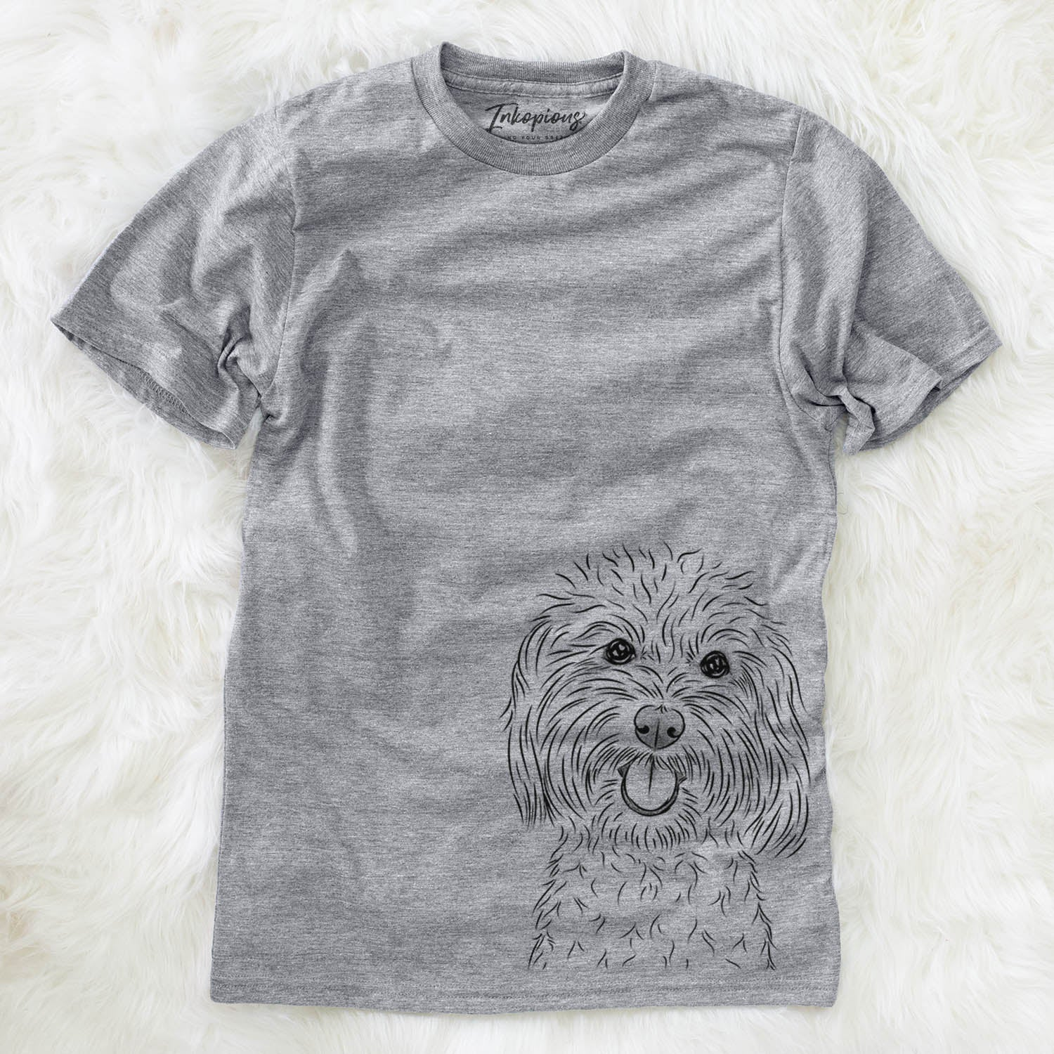 Cuddles the Coton de Tulear - Unisex Crewneck