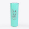Daisy May the Silky Terrier - 20oz Skinny Tumbler