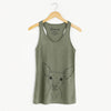 Desi the American Hairless Terrier - Racerback Tank Top