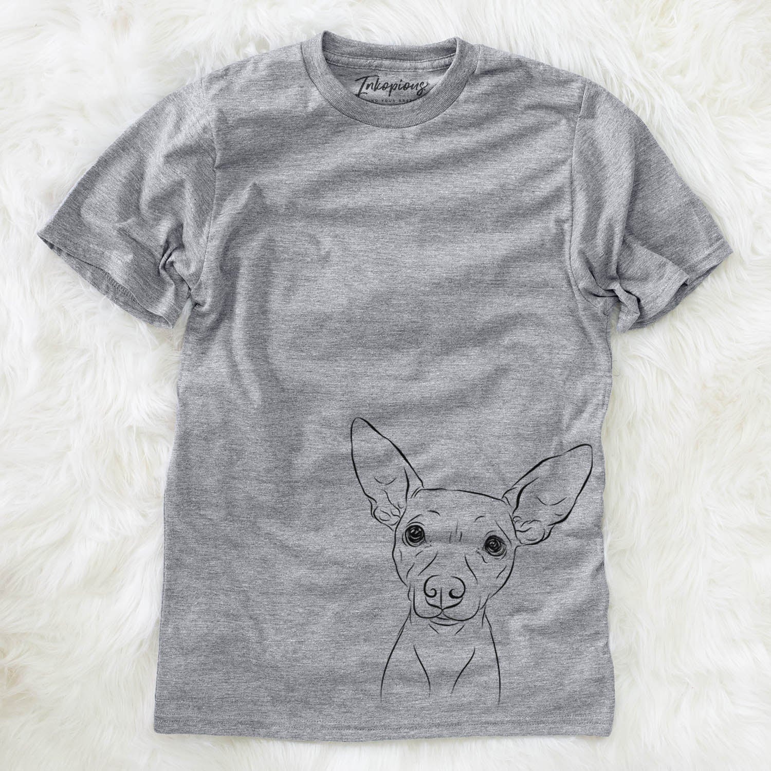 Desi the American Hairless Terrier - Unisex Crewneck