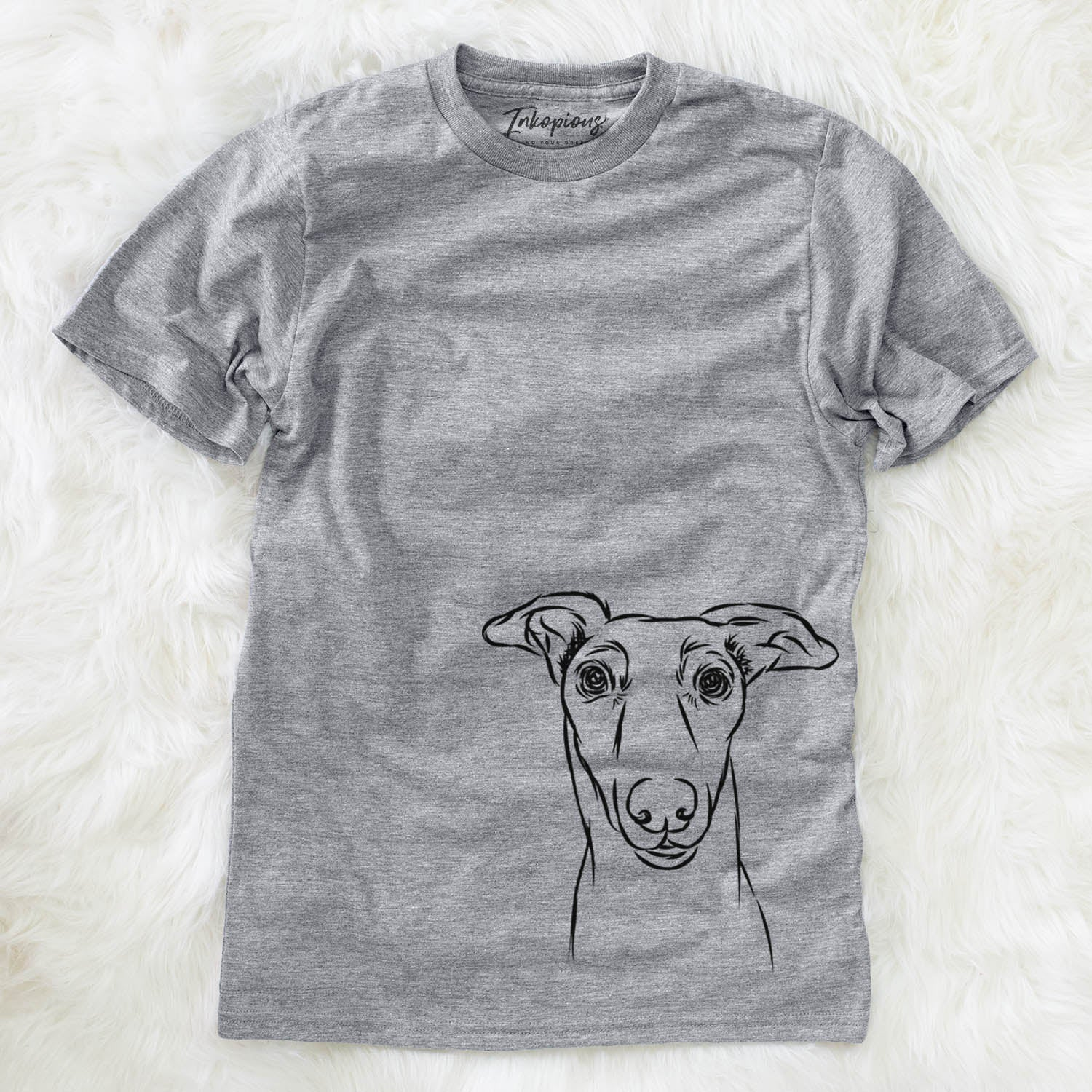 Diva the Greyhound - Unisex Crewneck