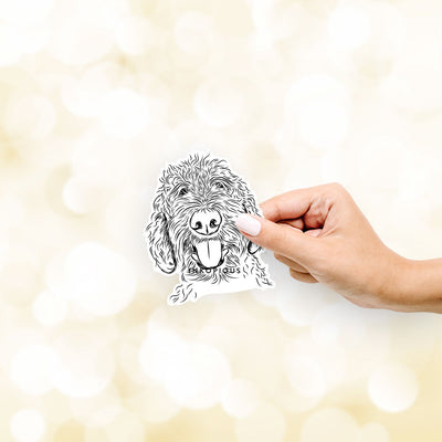 Dixie the Doodle - Decal Sticker