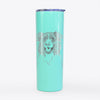 Dizzy the Border Collie - 20oz Skinny Tumbler