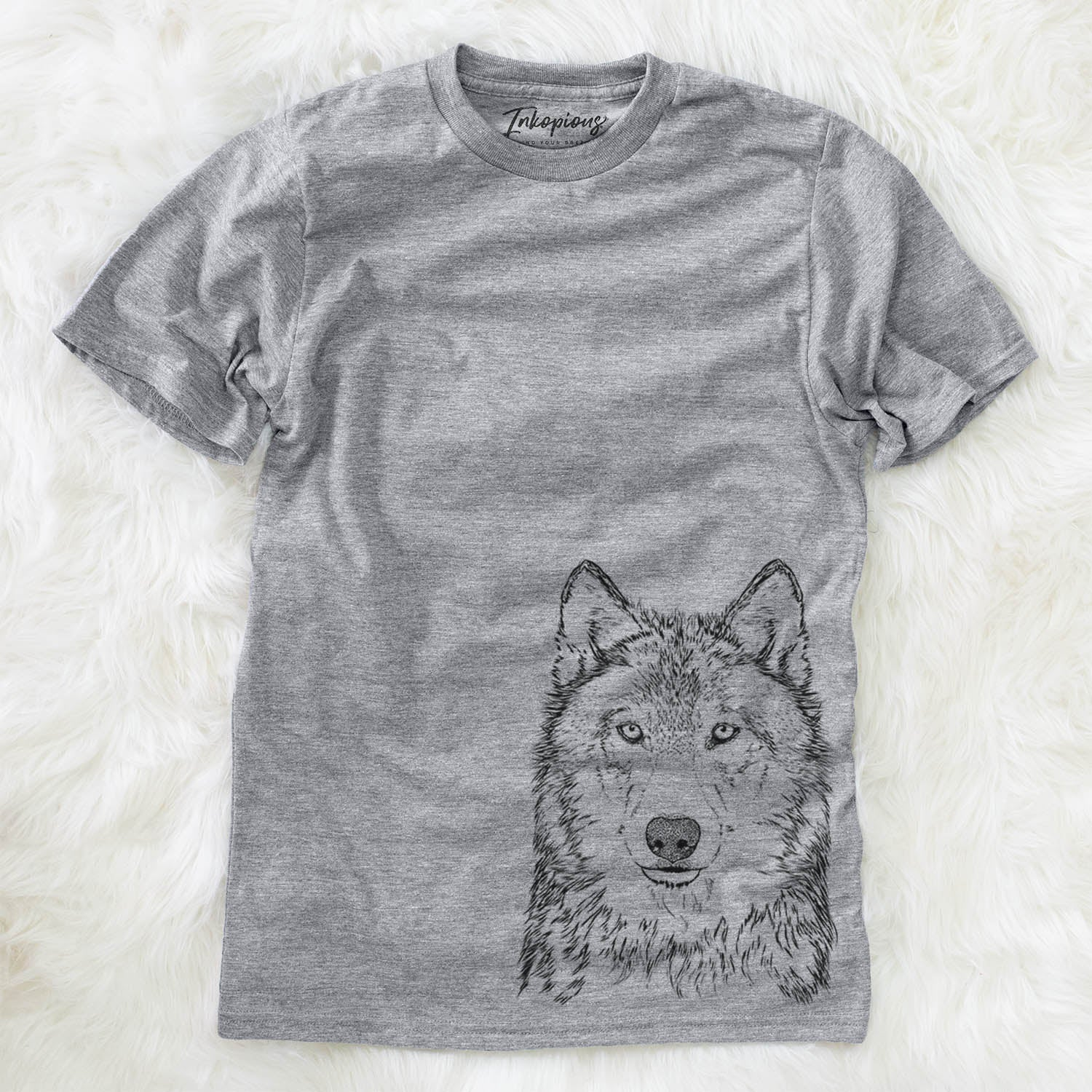Django the Grey Wolf - Unisex Crewneck