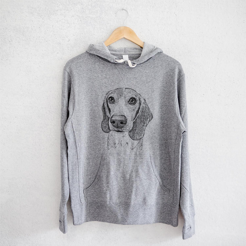 Elvis the Beagle - French Terry Hooded Sweatshirt