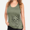 Emma the Longhaired Chihuahua - Racerback Tank Top