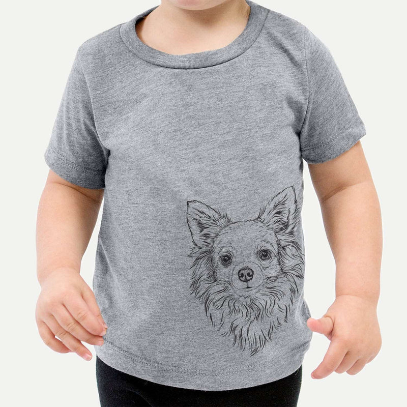 Emma the Longhaired Chihuahua - Kids/Youth/Toddler Shirt