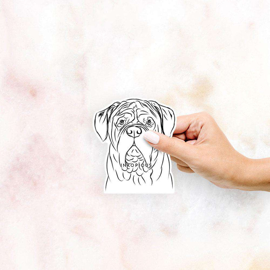 Felix the Dogue de Bordeaux - Decal Sticker
