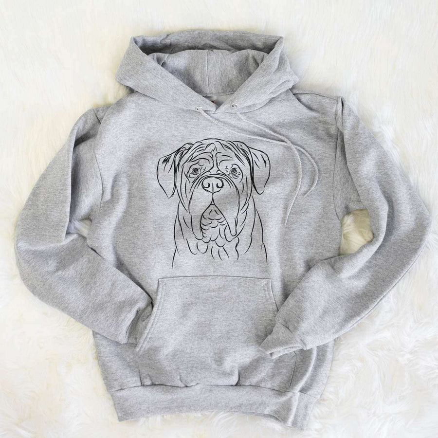 Felix the Dogue de Bordeaux - Mens Hooded Sweatshirt