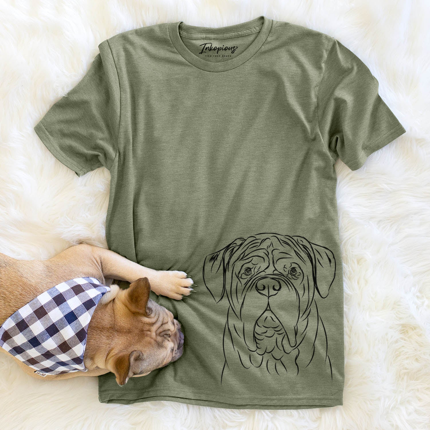 Felix the Dogue de Bordeaux - Unisex Crewneck