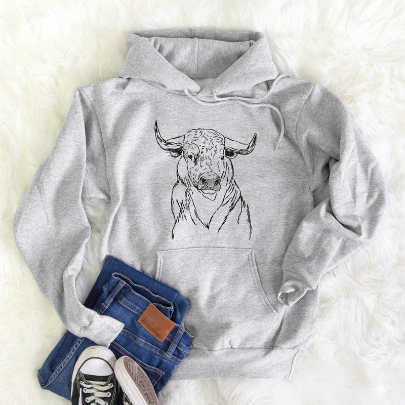 Ferdinand the Bull - Mens Hooded Sweatshirt