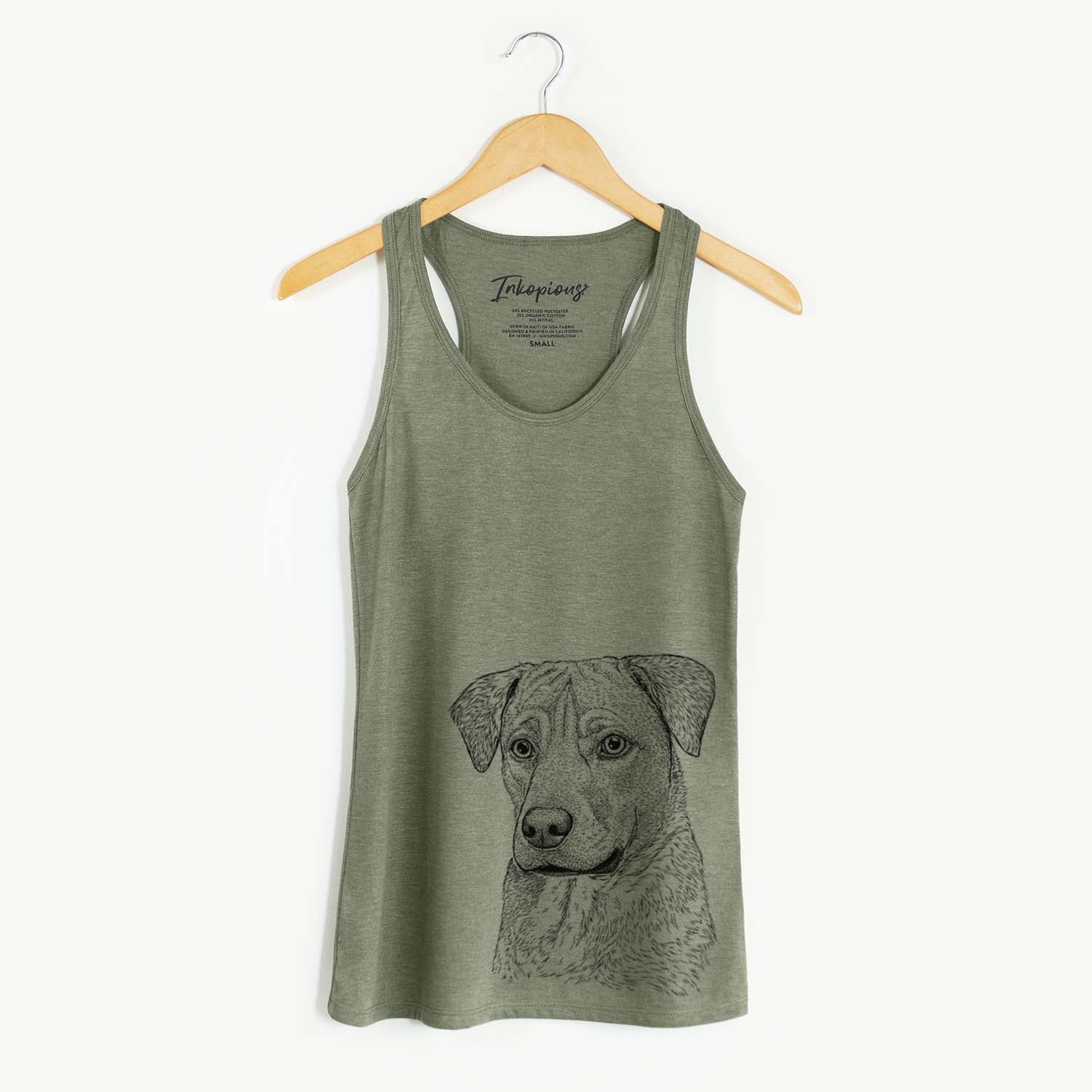Feta the Mixed Breed - Racerback Tank Top