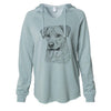 Feta the Mixed Breed - Cali Wave Hooded Sweatshirt