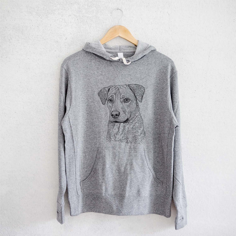 Feta the Mixed Breed - French Terry Hooded Sweatshirt