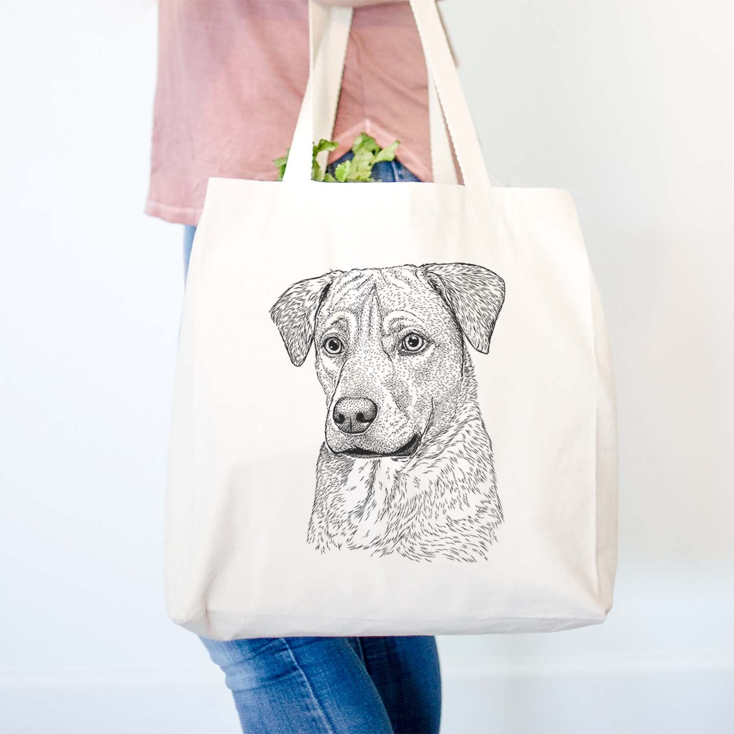 Feta the Mixed Breed - Tote Bag