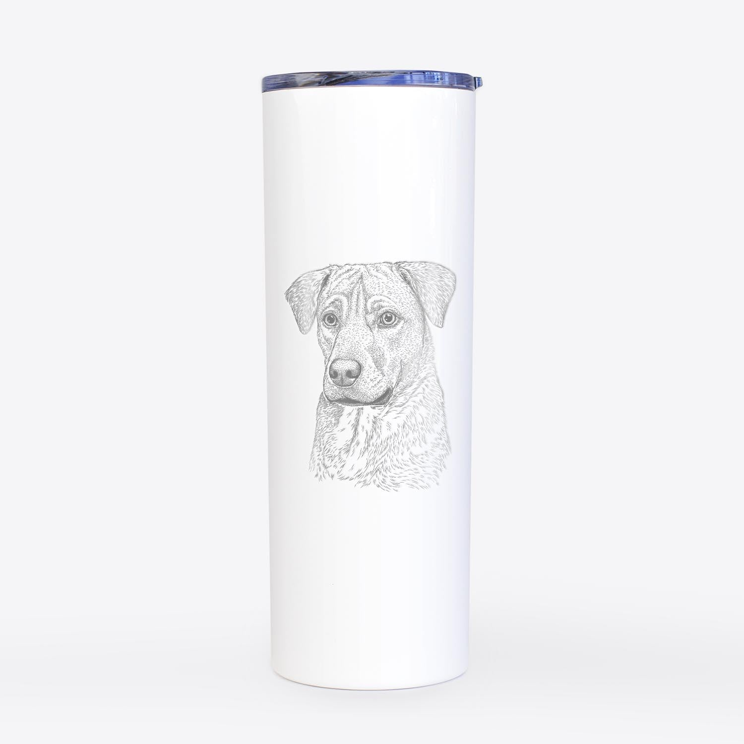 Feta the Mixed Breed - 20oz Skinny Tumbler