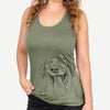 Fig the Labrador Retriever - Racerback Tank Top