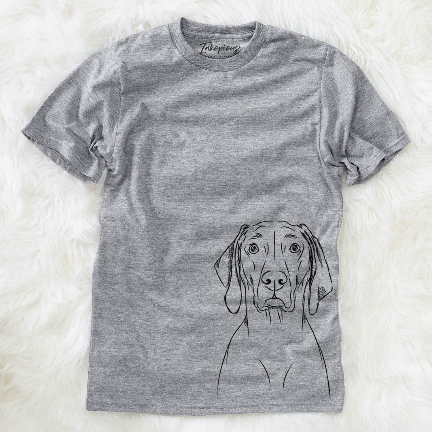 Flint the Weimaraner - Unisex Crewneck