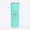 Fudge the French Bulldog - 20oz Skinny Tumbler