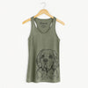 Gary the Clumber Spaniel - Racerback Tank Top