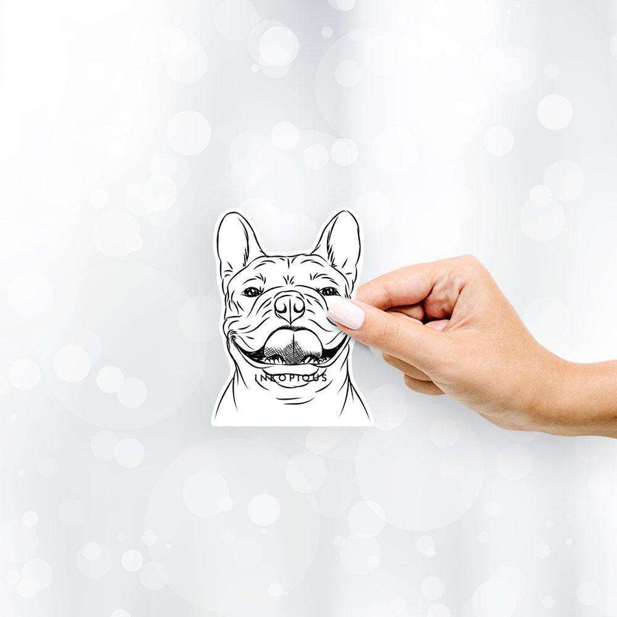 Gaston the French Bulldog - Decal Sticker