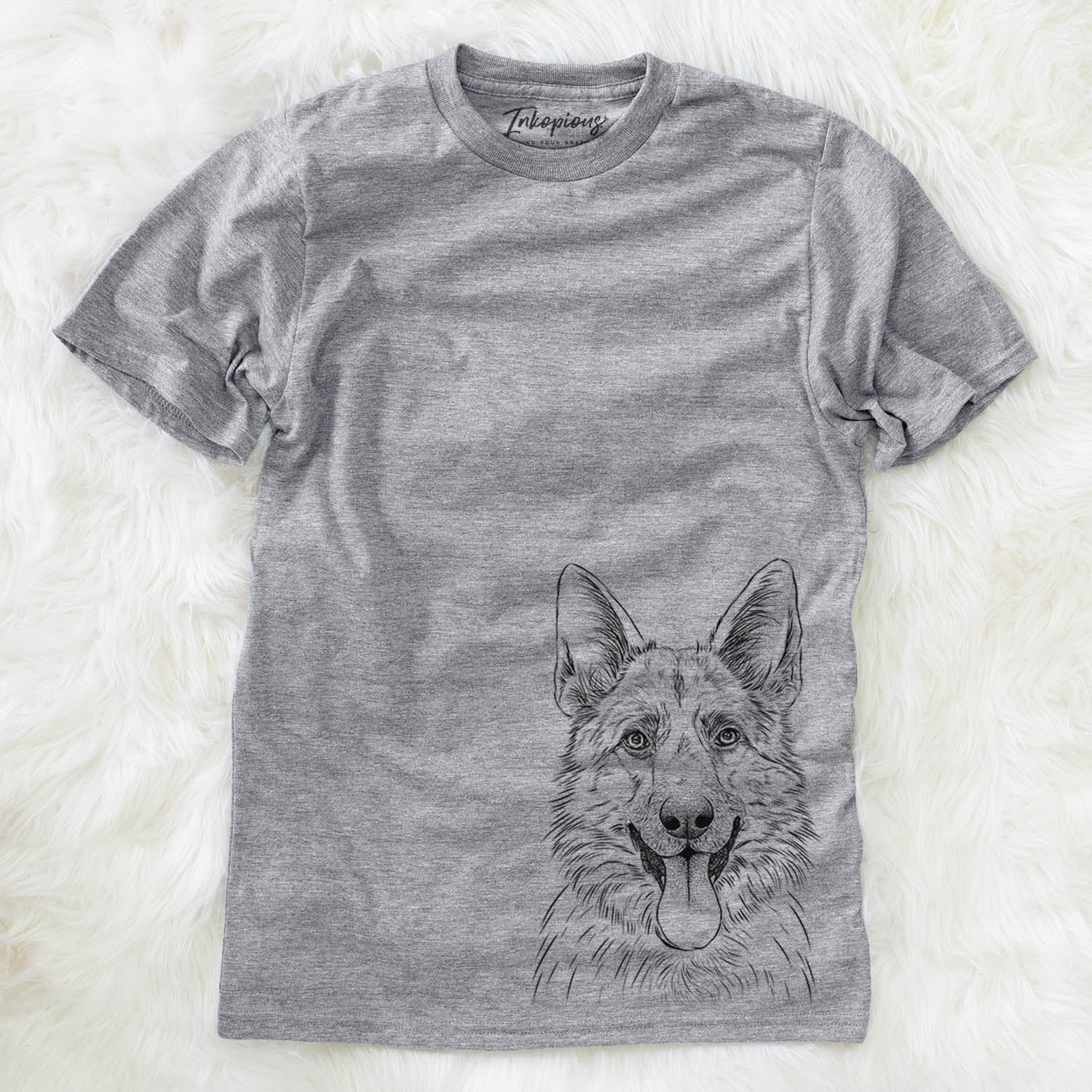 Grace the German Shepherd - Unisex Crewneck