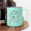 Gunner the Mixed Breed - 14oz Metal Mug
