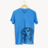 Gunner the Mixed Breed - Unisex V-Neck Shirt