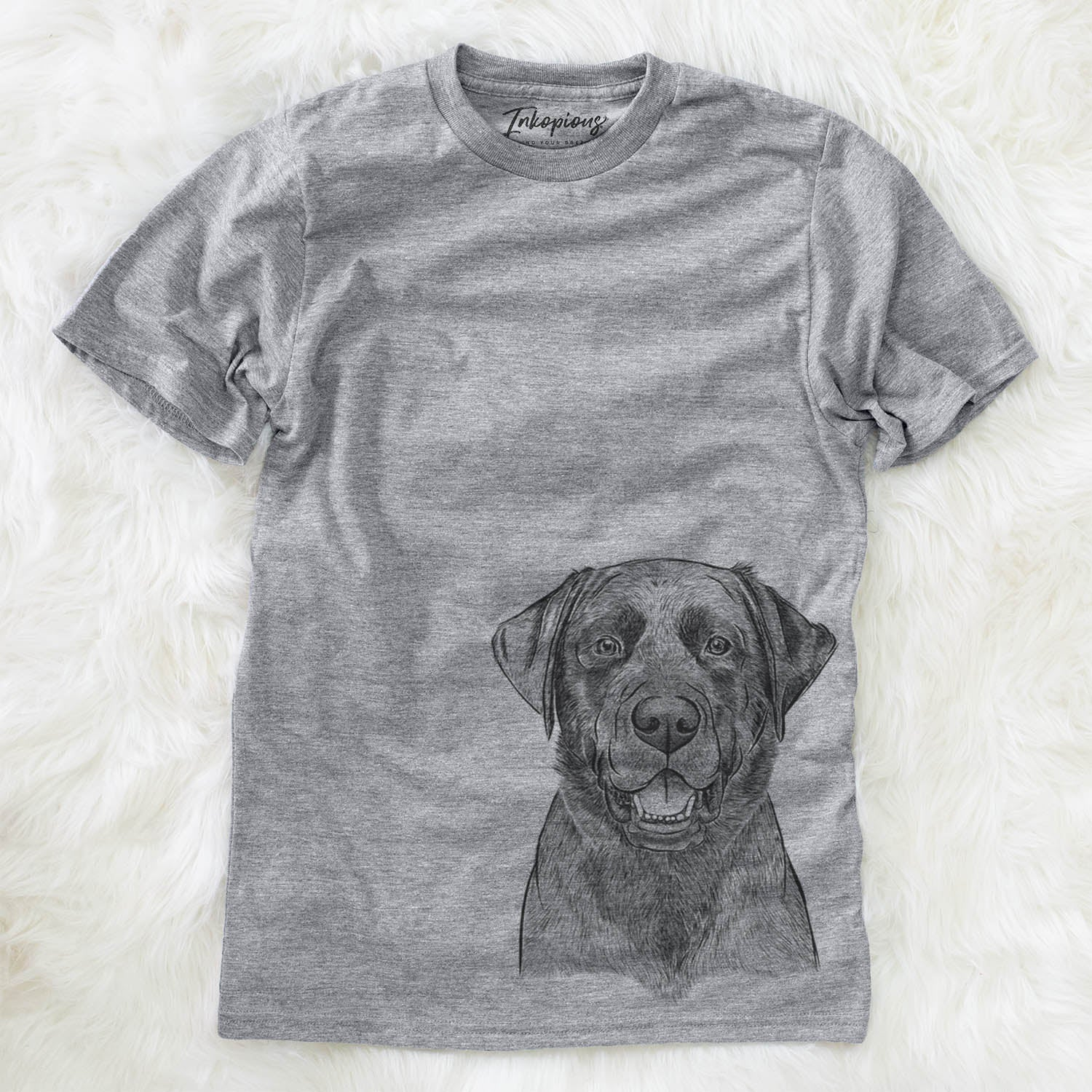 Heath the Black Lab - Unisex Crewneck