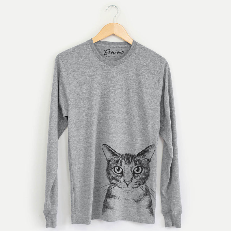 Hobbes the Tabby Cat - Long Sleeve Crewneck