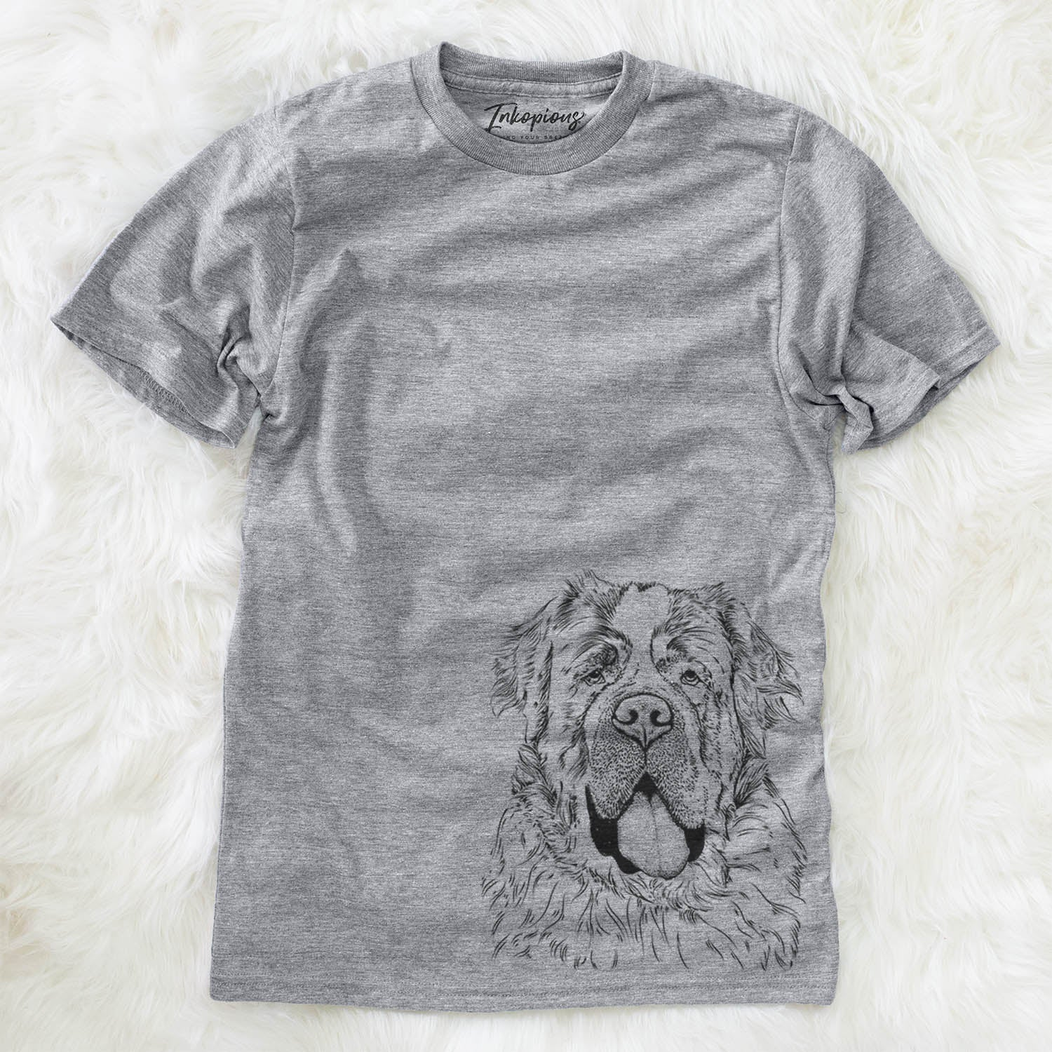 Hoss the Saint Bernard - Unisex Crewneck