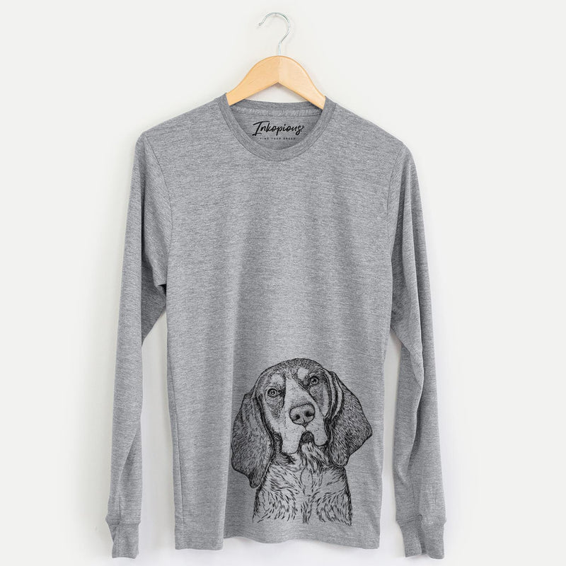 Huck the Bluetick Coonhound - Long Sleeve Crewneck
