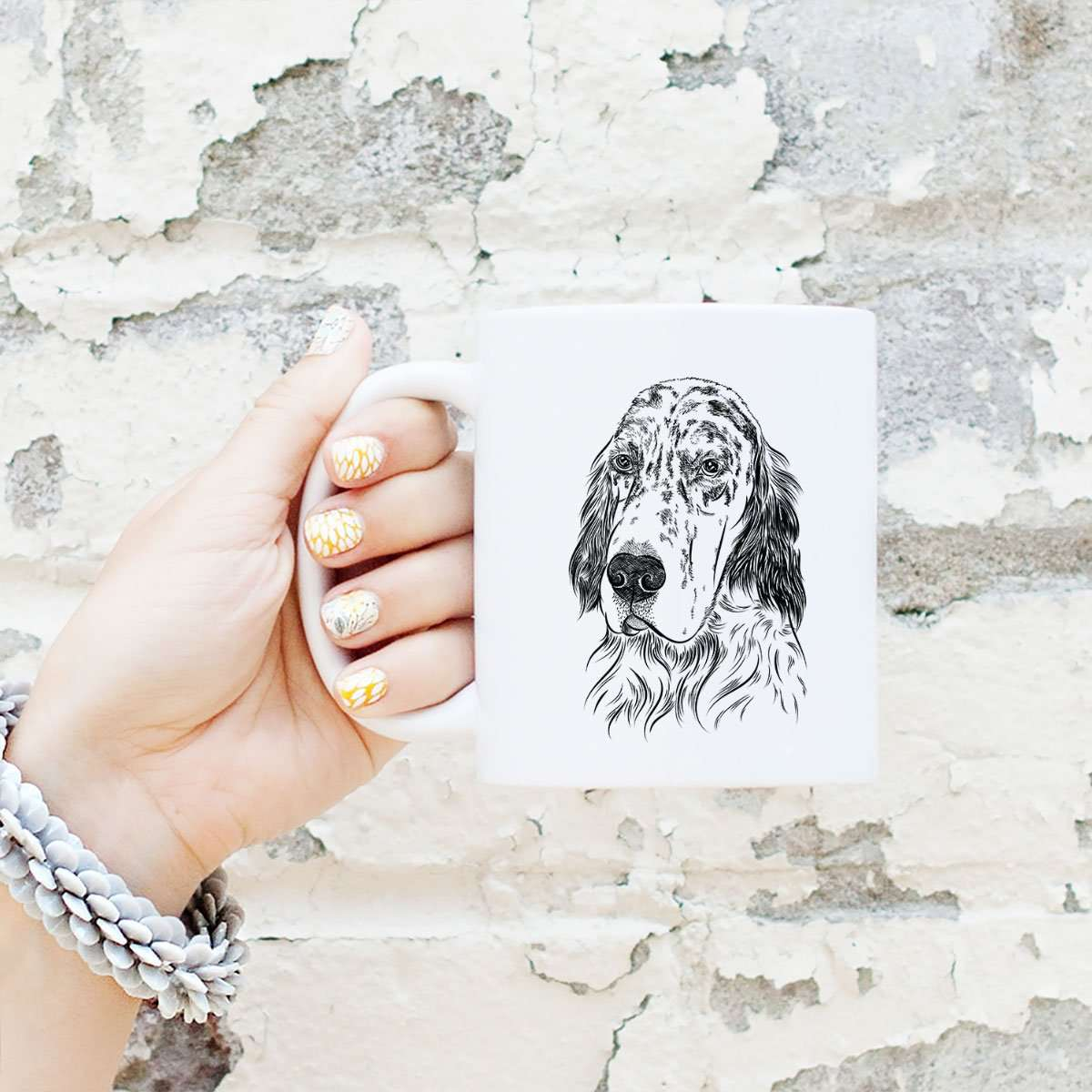 Aviator Hutch the English Setter - Mug