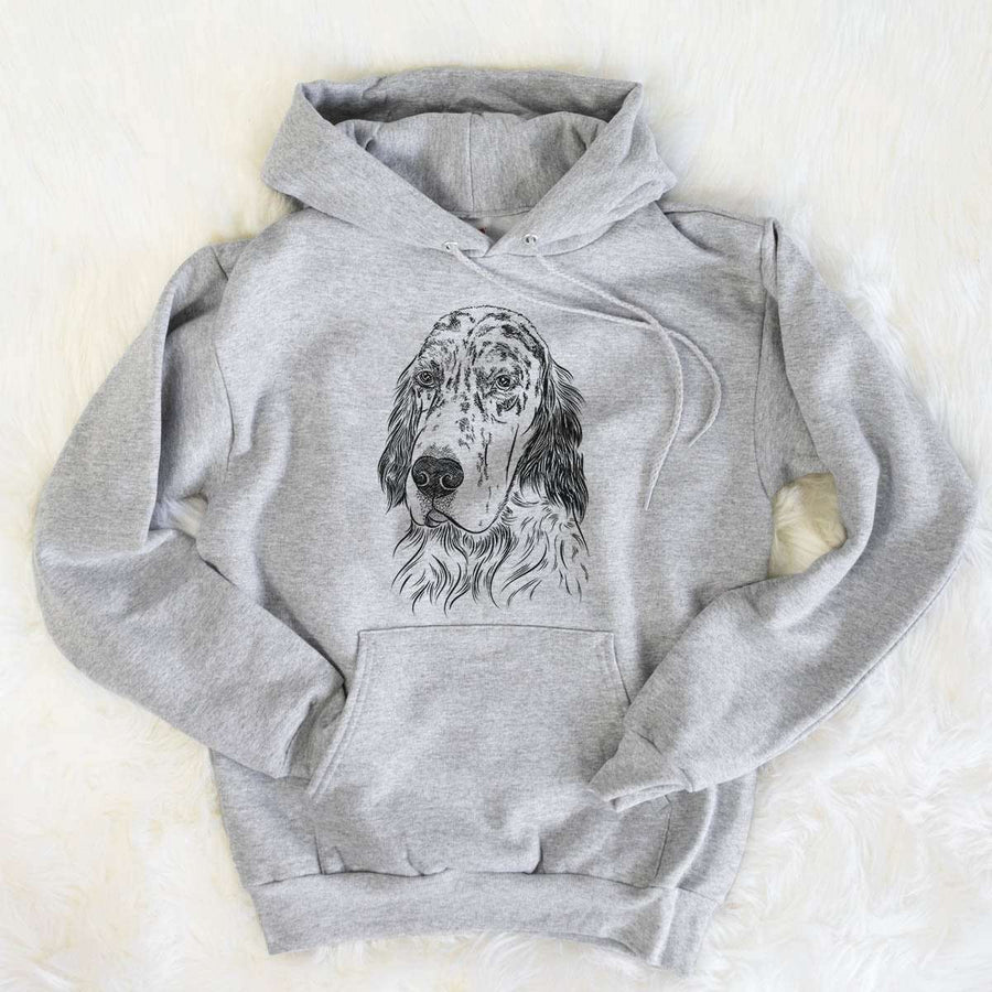 Hutch the English Setter - Mens Hooded Sweatshirt