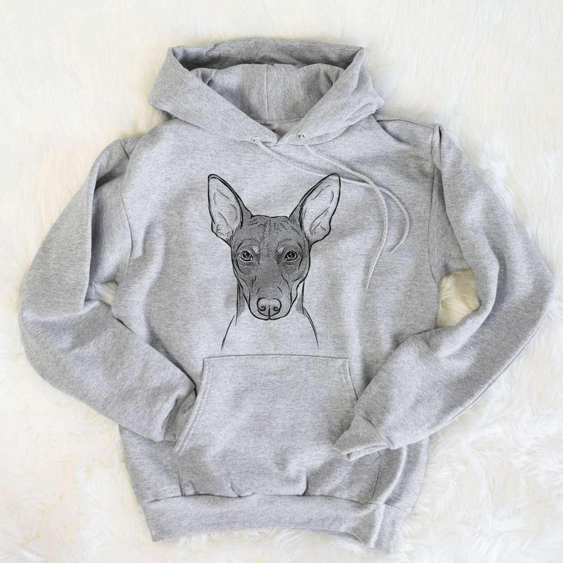 Knox the Rat Terrier - Mens Hooded Sweatshirt
