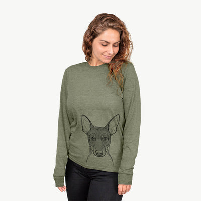 Knox the Rat Terrier - Long Sleeve Crewneck