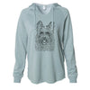 Kyros the Berger Picard - Cali Wave Hooded Sweatshirt