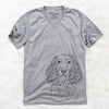 Landry the Boykin Spaniel - Unisex V-Neck Shirt