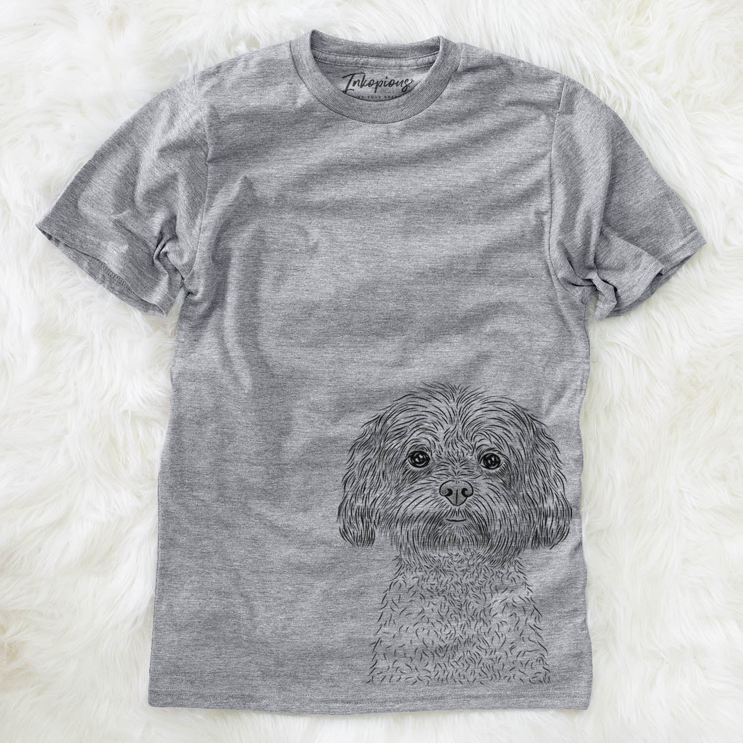 Lane the Lhasa Apso - Unisex Crewneck