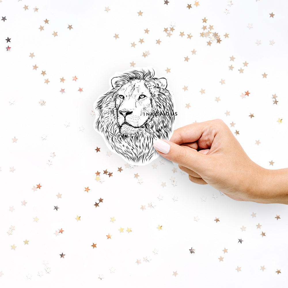 Lenny the Lion - Decal Sticker