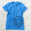 Lenny the Lion - Women's Modern Fit V-neck Shirt