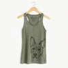 Leo the Ibizan Hound/Bull Mastiff Mix - Racerback Tank Top