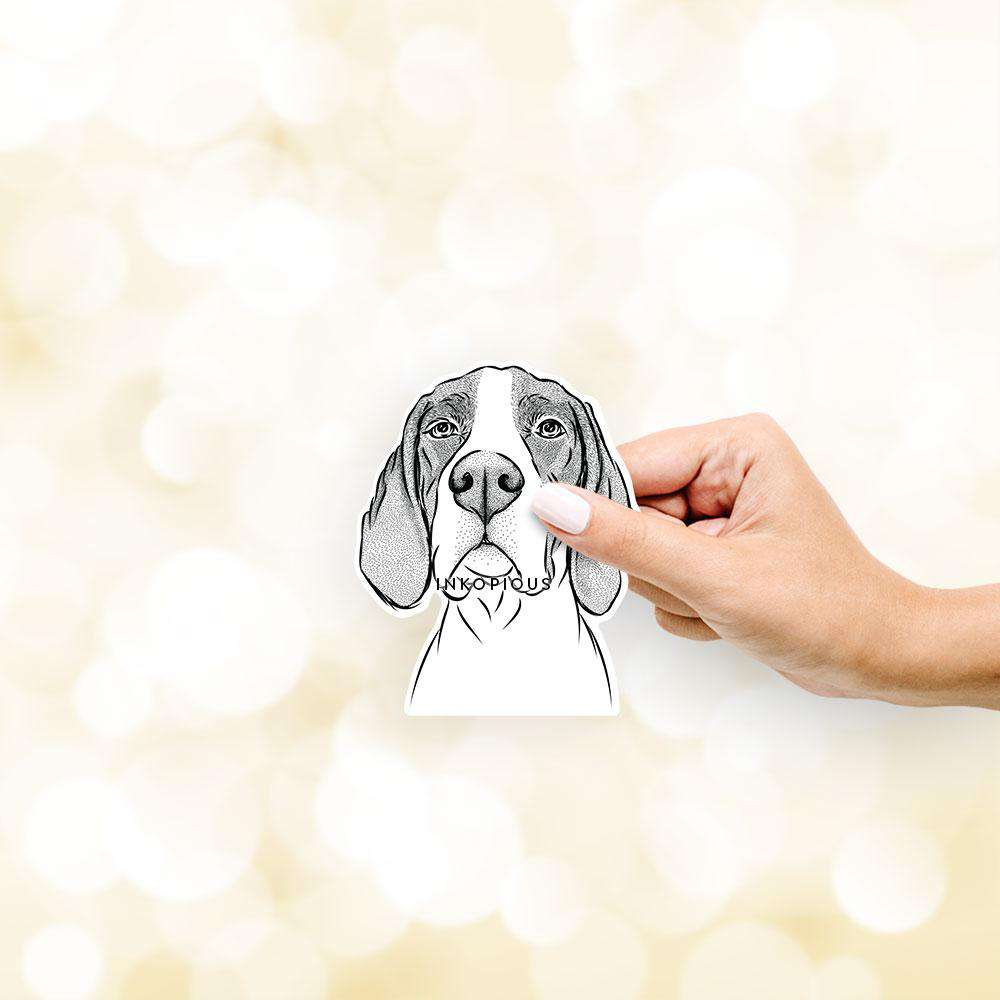Liam the English Pointer - Decal Sticker