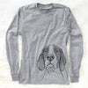 Liam the English Pointer - Long Sleeve Crewneck